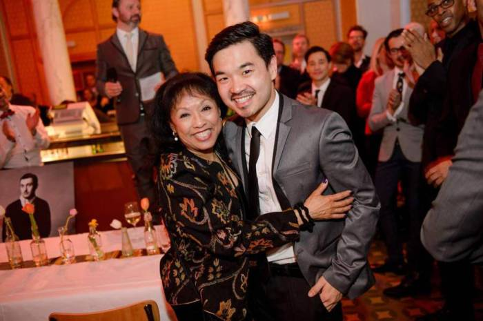 Baayork Lee und Wei-Ken Liao
