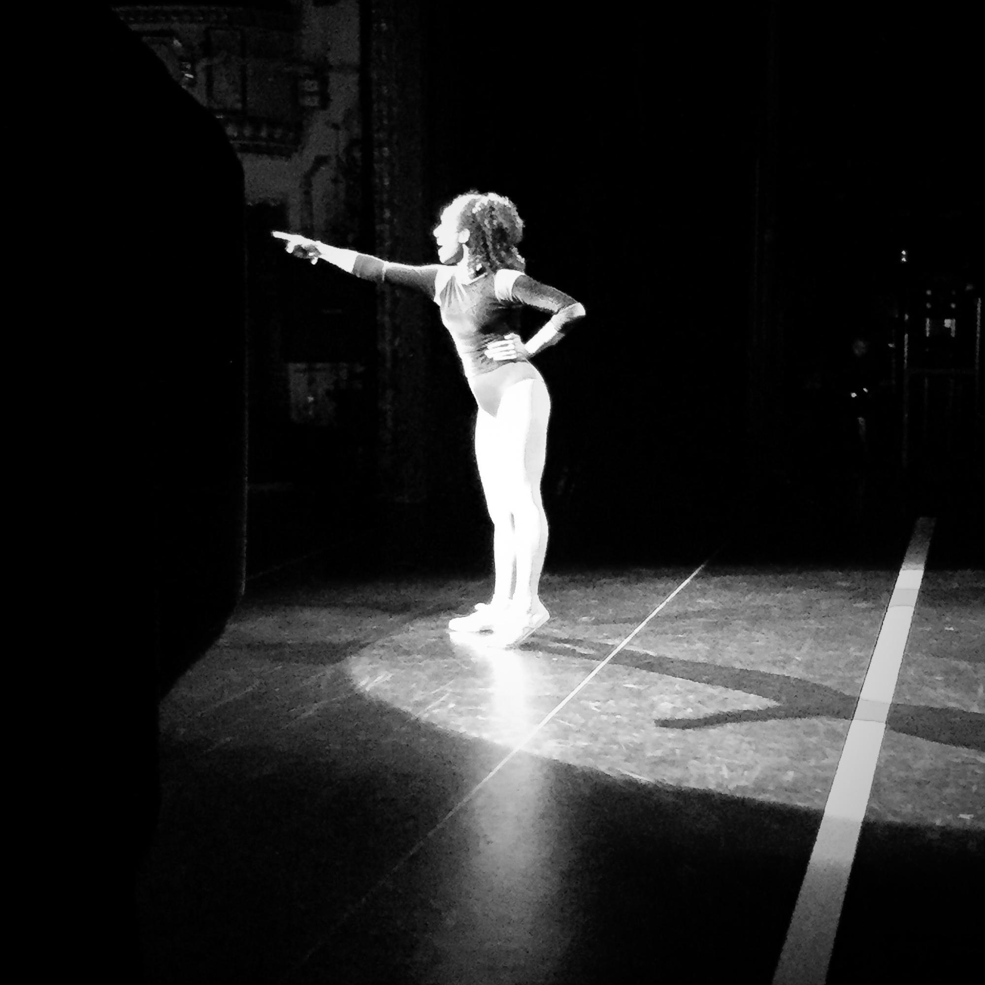 "Backstage bei ""A Chorus Line"""
