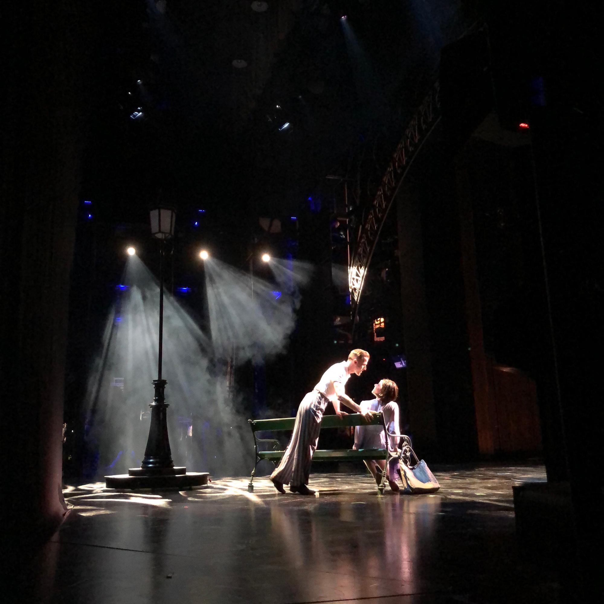 """Backstage bei """"Ein Amerikaner in Paris"""""""